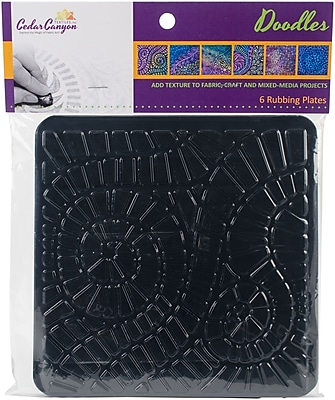 Artist's Paintstiks Rubbing Plates 7.125