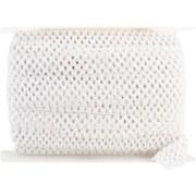 "Crochet Headband Stretch Trim 1-3/4""X20yd-White"