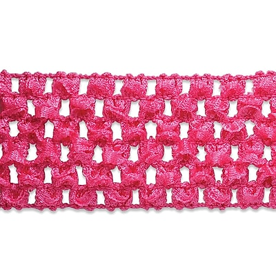Crochet Headband Stretch Trim 1-3/4