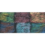 """Artist's Paintstiks Rubbing Plates 7.125""""X7.125"""" 6/Pkg-Leaves"""