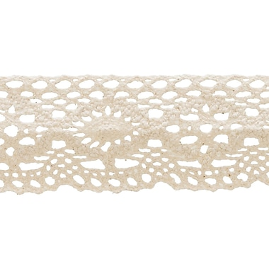Oval Cluny Lace 1-1/8
