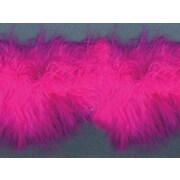 """Feather Boa 1-1/2""""X10yd-Hot Pink"""