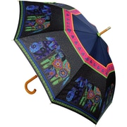 "Laurel Burch Stick Umbrella 42"" Canopy Auto Open-Dogs & Doggies"