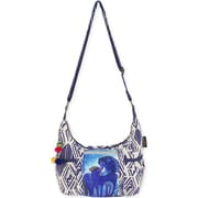 "Medium Scoop Crossbody 11.5""X5.75""X8""-Indigo Mares"
