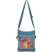 "Long Satchel 10.5""X12.5""-Feline Clan"