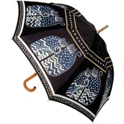 "Laurel Burch Stick Umbrella 42"" Canopy Auto Open-Polka Dot Cats"