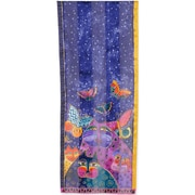 Laurel Burch Scarves-Cats W/Butterflies