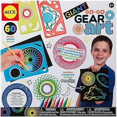 Giant Go Go Gear Art Set-