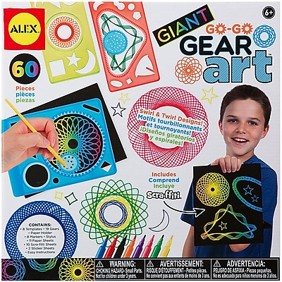 Giant Go Go Gear Art Set-