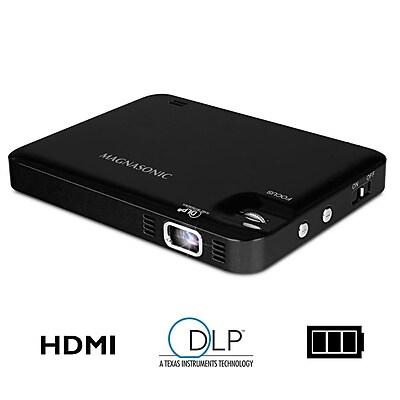 "Magnasonic PP60 HDMI 60"" Display Hi-Resolution 1080P LED Pocket Pico Video Projector"