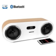 Fluance Two-Way High Performance Wireless Wood Speaker System, Lucky Bamboo (FI50W)