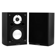 tv speakers. fluance xl7sbk high performance two-way bookshelf surround sound speakers black ash tv