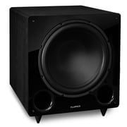 Fluance DB12 12-inch Low Frequency Ported Front Firing Powered Subwoofer in Black
