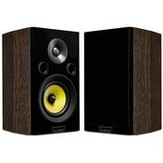 Fluance HFSW Signature Series HiFi Two-way Bookshelf Surround Sound Speakers Natural Walnut