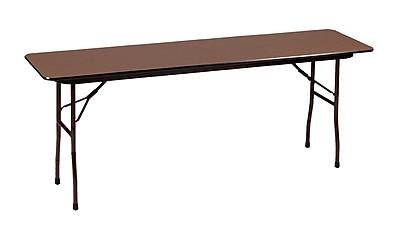 Correll Commercial Duty Folding Table in Walnut (CF1896PXA-01)