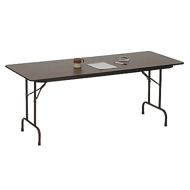 Correll Commercial Duty Folding Table in Walnut (CF3672PX-01)