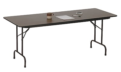 Correll Commercial Duty Folding Table in Walnut (CF3096PXA-01)