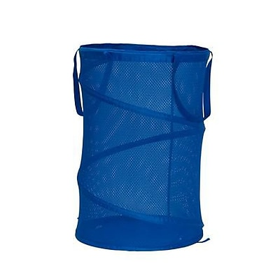 Household Essentials Blue Pop Up Hamper (2426)