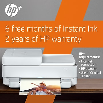 HP ENVY 6455e Wireless Color All-in-One Printer with bonus 6 free months Instant Ink with HP+ (223R1A)