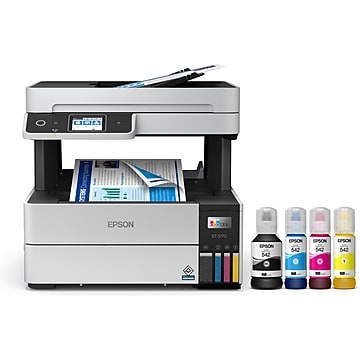 Epson EcoTank Pro ET-5170 Wireless Color All-in-One Inkjet Printer (C11CJ88201)