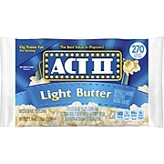ACT II Popcorn, Light Butter, 2.75 Oz., 36/Carton (GOV23243)