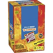 Slim Jim Beef and Cheese, 1.5 oz, 18 Count
