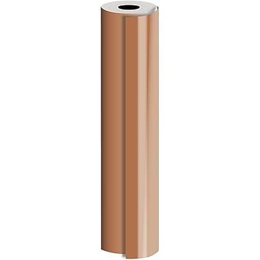 JAM Paper® Industrial Size Bulk Wrapping Paper Rolls, Matte Copper, 30