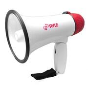 Pyle PMP20 Compact Professional Power Megaphone 20 Watt, White (93584485M)