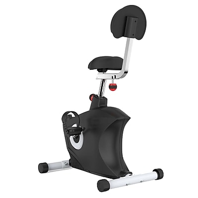 Serene Life Under Desk Bicycle Pedaling Fitness Machine Black (93599609M)