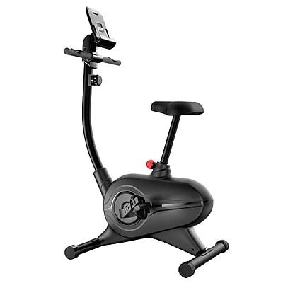 Serene Life Upright Stationary Exercise Bike Black (93599608M)