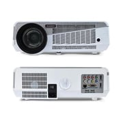 Pyle Home PRJAND615 1280 x 780 HD Hi-Res Smart Projector , White/Gray