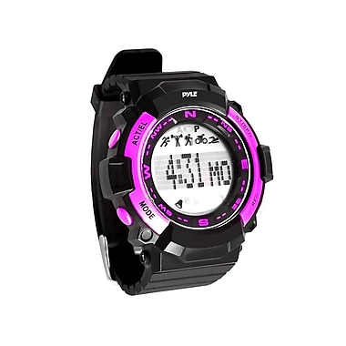 Pyle Sport Multi-Function Sports Wrist Watch With Sleep Monitor, Pedometer, Step Counter and Stop Watch (PSPTR19PN)