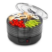 NutriChef Electric Countertop Food Dehydrator Black (PKFD14BK)