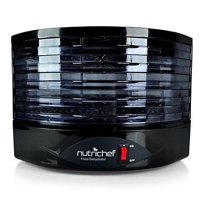 Nutrichef Electric Kitchen Dehydrator Black (PKFD19BK)