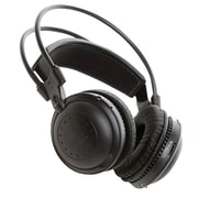 Pyle PLVWH2 Dual A/B Channel Infrared Wireless Stereo Headphone, Black