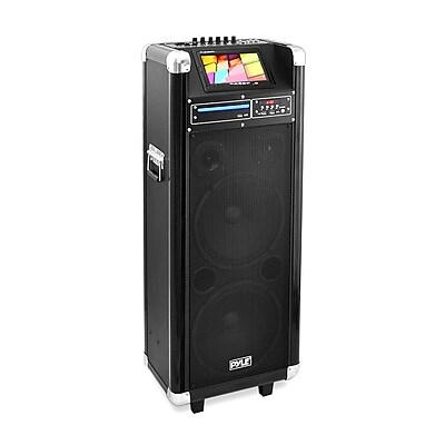 Pyle Pro Karaoke Vibe Bluetooth Multimedia PA System (PKRK210)