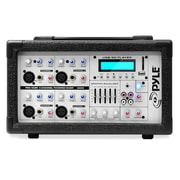 Pyle 400-Watt 4-Channel Powered Mixer with MP3 USB Input (PMX402M)