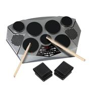 Pyle Pro PTED06 Electronic Tabletop Digital Drumming Kit Grey/Black