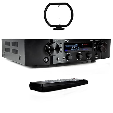 Pyle Home 2000-Watt Bluetooth Hybrid Pre-Amplifier & Home Theater Stereo Pre-Amp Receiver