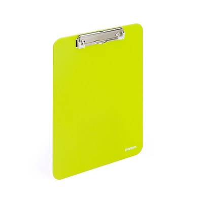 Poppin Lime Green Clipboard, 6 Count