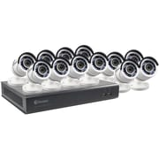 Swann 16-Channel 4595 Series 1080p DVR with 2TB HD & 12 Bullet Cameras (SWDVK-1645912-US)