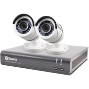 Swann 4-Channel 4575 Series 1080p DVR with 1TB HD & 2 Bullet Cameras (SWDVK-445752-LW)
