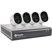 Swann 8-Channel 4580 Series 1080p DVR with 1TB HD & 4 PIR Bullet Cameras (SWDVK-845804-US)