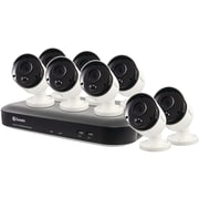 Swann 8-Channel 4980 Series 5.0-Megapixel DVR with 2TB HD & 8 PIR Bullet Cameras (SWDVK-849808-US)