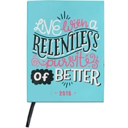 "2018 High Note 7.5"" x 5.5"" 18-Month Weekly Planner Pursuit of Better (CHZ0303)"