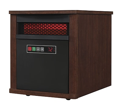Duraflame Portable Electric Infrared Quartz Heater, Cherry (9HM7000-NC04)