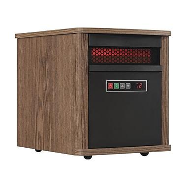 Duraflame Portable Infrared Quartz Space Heater, Dark Oak (9HM9293-PO78)