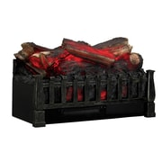 Duraflame Electric Log Set Heater with Realistic Ember Bed, Antique Bronze (DFI021ARU)