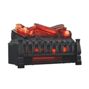 Duraflame Infrared Quartz Log Set Heater with Realistic Ember Bed and Logs, Black (DFI030ARU)