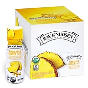 RWK Pineapple Ginger Shots, No Sugar Added, 2.5 oz., 12 Bottles/Pack (307-00333)